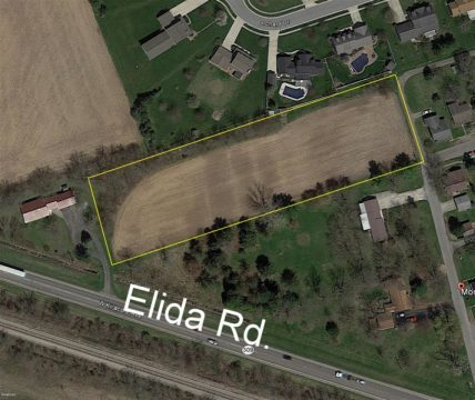 2.5 acres on Elida Rd