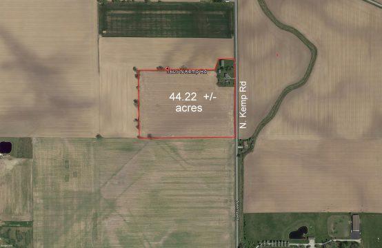 40.22 acres – N. Kemp Rd.  Allen County