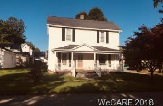 409 N. Cherry St.  Kenton, OH  43326