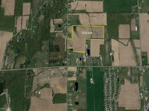 53.64 Acres on Stewart Road, Allen County