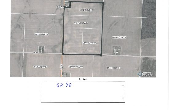 52.98 Acres – Kenton OH