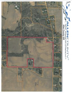 57.99 ACRES – SWANEY RD. HARROD, OH  45850