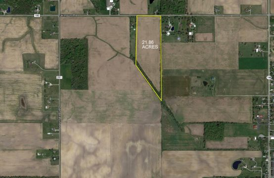 21.86 ACRES ON FAIRMOUNT RD.  WAYNESFIELD, OH 45896