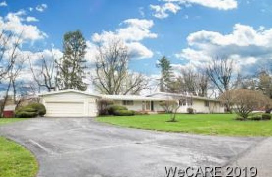 1638 Springhill Dr. Lima, OH 45805