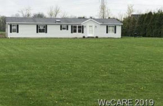 14400 Township Road 57 Rawson, OH  45881
