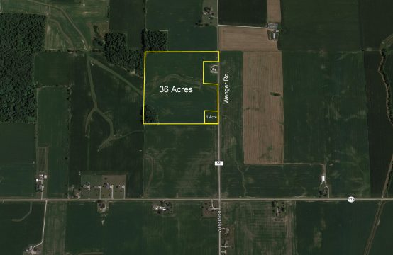 37 Acres -Anna OH,  Shelby County
