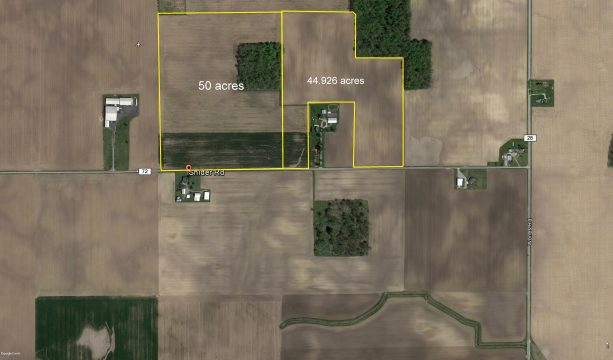 85 +/- Acres – Jackson Center, Shelby County OH