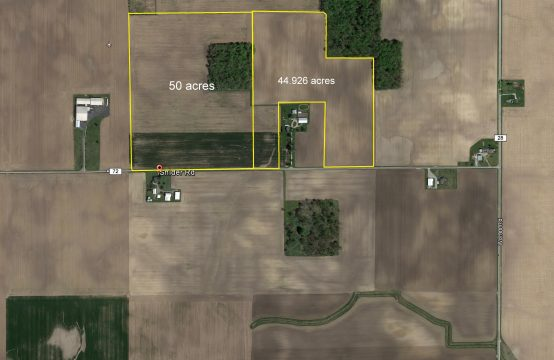 94 +/- Acres – Jackson Center, Shelby County OH