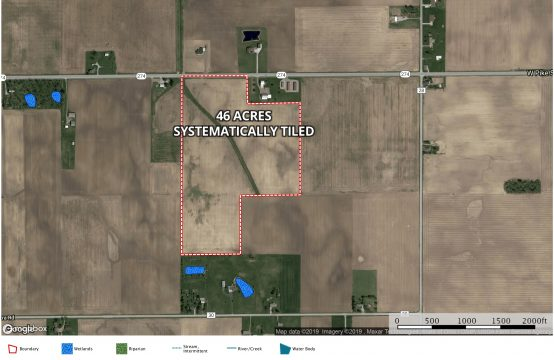 46 Acres Farm Ground – Shelby County