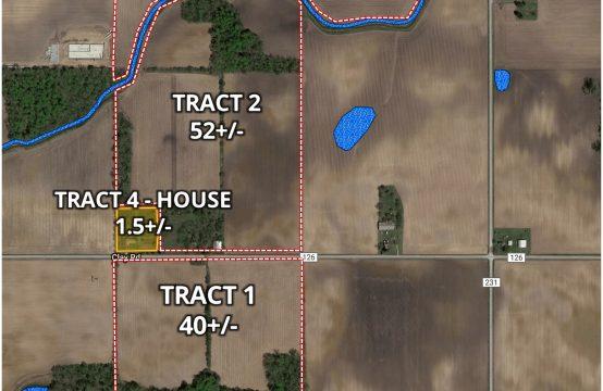 123+/- ACRE FARM & HOMESTEAD AUCTION