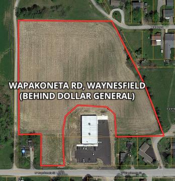 6.967 acres; Waynesfield, OH