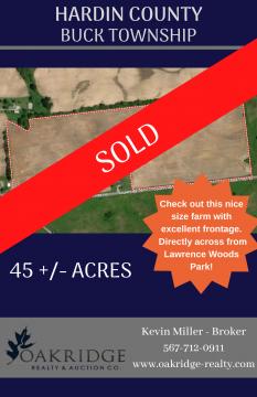 Nice 45 Acre Farm!
